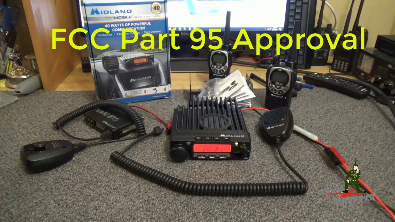 Midland MXT400 40 Watt GMRS Mobile Radio