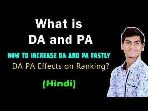 What is DA n PA in Hindi? Ranking SEO Factors I How to Increase Fastly DA n PA