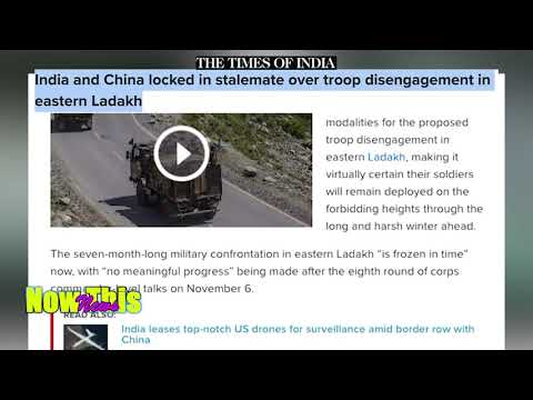 The Time of India   India and China locked in stalemate over troop disengagement in easter Ladakh.