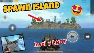 Exploring Spawn Island after 0.8.5 update in PUBG Mobile | Best loot in Erangel