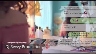 Karutha Penne - Sanah Moidutty || Remix By Dj Revvy