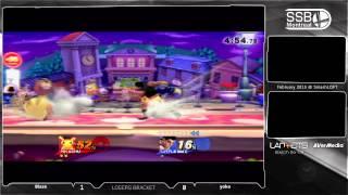 Blaze (Little Mac) vs YokoBlue (Pikachu) - SSB4 Losers Bracket - The SmashLoft