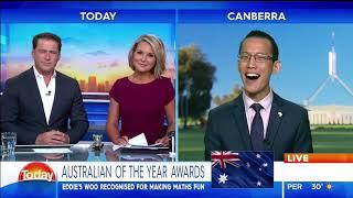 Eddie Woo on Australia Day (Channel 9 TODAY Show)