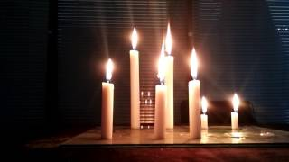 non drip non smoke paraffin wax household white candle