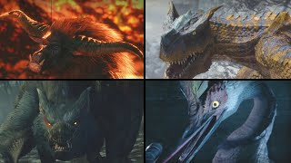 All Monster Intros in Monster Hunter Rise Compilation