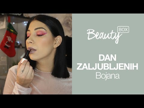 Sara Jo izazov | Valentine Makeup Look | BOJANA