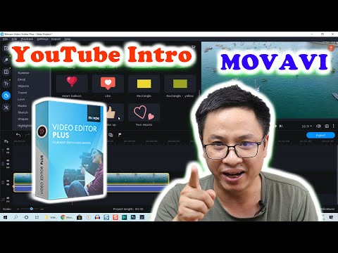HOW TO  Create YouTube Intro Videos FAST Using Movavi Video Editor Plus ...