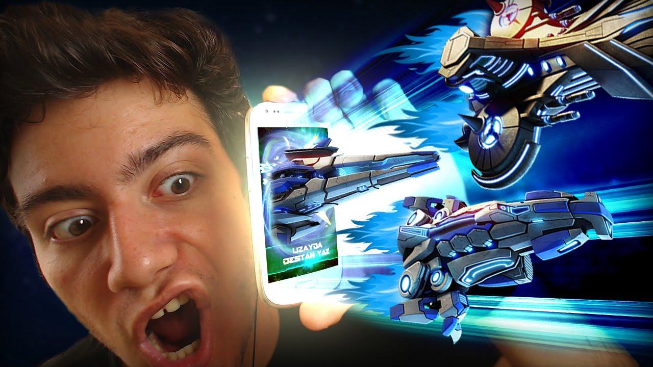 Uzay Savas Oyunu Galaxy Zero Mobil Oyun Youtube