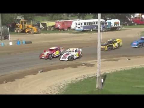 I.M.C.A. B-Feature Race at Crystal Motor Speedway, Michigan on 09-16-2018!
