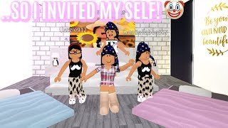 The POPULAR GIRLS DIDNT INVITE ME To Their Sleep Over...So I INVITED MY SELF!!