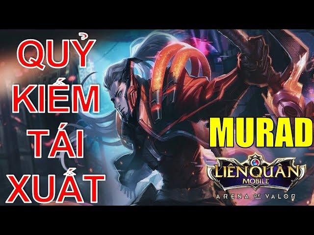 Liên quân mobile: MURAD mùa 8 bất tử với phong cách quỷ kiếm | Arena of Valor