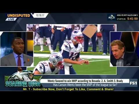 Skip Bayless Reacts To Carson Wentz & NFL MVP   Undisputed