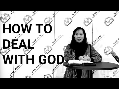 RIM PERTH - SUNDAY SERVICE | Ps Ruth Julia - How To Deal With God [24th May 2020]