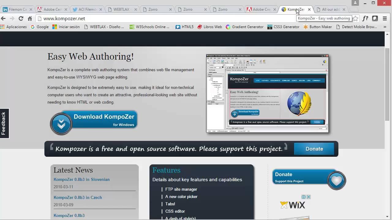 Sitio web con efecto de scroll - Video 02 Software a usar - YouTube