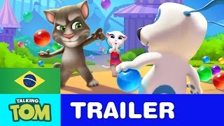 Talking Tom Bubble Shooter - Trailer Oficial
