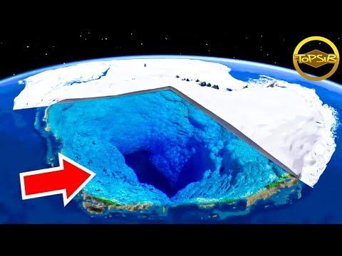 10 สิ่งที่อยู่ใต้น้ำแข็งในแอนตาร์กติกาที่คุณไม่รู้ (จริงดิ)