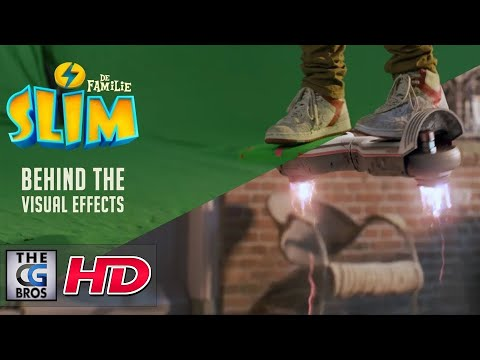 """CGI 3D Making of: """"Behind The VFX:  FAMILIE SLIM"""" - by Machine Eleven"""