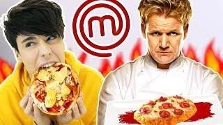 i recreated MASTERCHEF'S WORST DISHES for a day