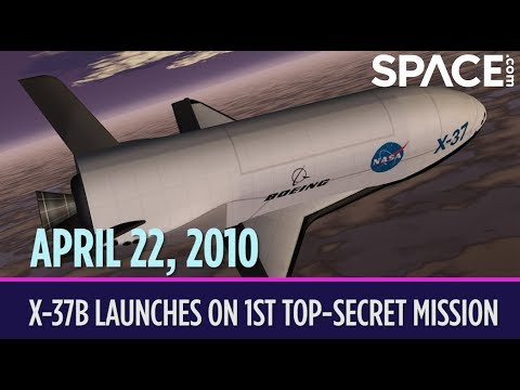 OTD in Space – April 22: X-37B Launches on 1st Top-Secret Orbital Mission