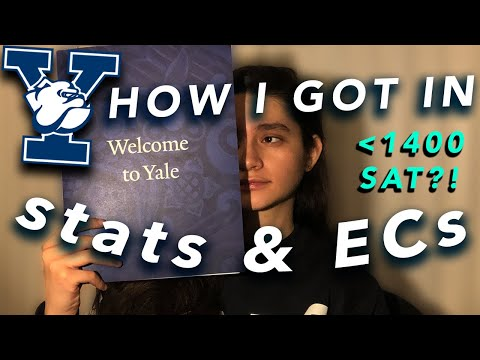 HOW I GOT INTO YALE!! GPA, SAT, Extracurriculars & MORE +ADVICE!