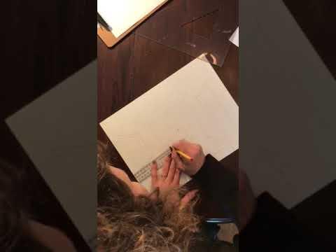 Arts plastiques secondaire chambre en perspective - YouTube