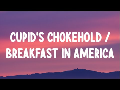 "Gym Class Heroes - Cupid's Chokehold (Lyrics) ft.Patrick Stump ""Take a look at my girlfriend she's"""