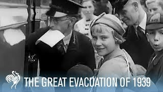 The Great Evacuation of 1939: Children Flee Britain | War Archives