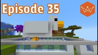 World of Hex 35 Chicken Pooping Chicken farm! -Minecraft Let
