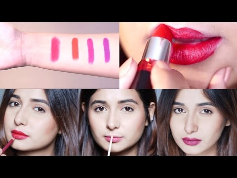 Beginner's Guide To Pick The PERFECT LIPSTICK - Lipstick Tutorial For Beginners | Glamrs.com