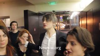 Peter Doherty & fans after live show in Moscow YOTASPACE 11.05.2017