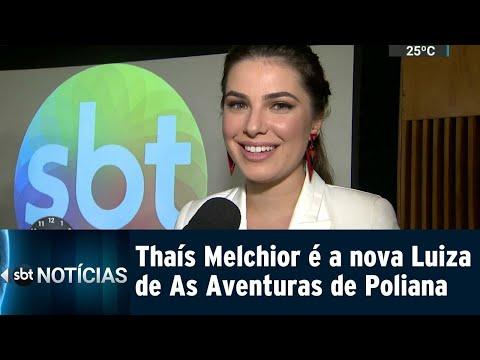 Thaís Melchior, A Nova Tia Luiza, Chega à Novela De 'coração Aberto' | SBT Notícias (14/09/18)