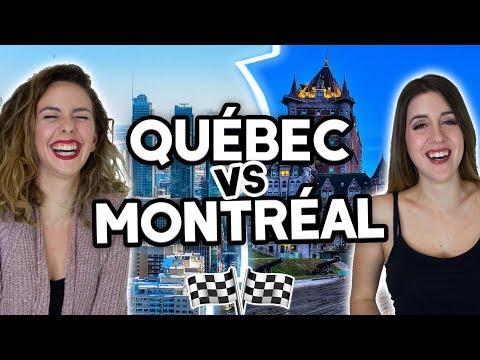 QUÉBEC VS MONTRÉAL - QUELLE VILLE CHOISIR? (ft. Allô Anaïs)   DENYZEE