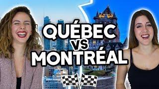 QUÉBEC VS MONTRÉAL - QUELLE VILLE CHOISIR? (ft. Allô Anaïs) | DENYZEE