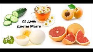 Диета Магги / Видеодневник / День 22 / Рецепты