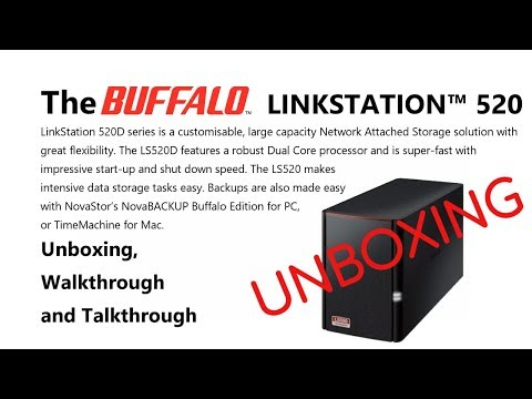 Unboxing the Buffalo Linkstation 520 NAS - Is this the lowest Priced Featured NAS yet?