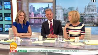 Charlotte Hawkins Tells Jeremy Kyle to Get a DNA Test! | Good Morning Britain