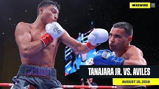 FULL FIGHT   Hector Tanajara Jr. vs. Ezequiel Aviles (DAZN REWIND)