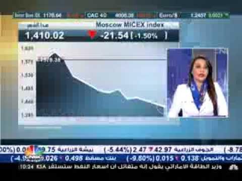 عاصفة النفط  مع  وليد جرادات على CNBC العربية – الثلاثاء 16 ديسمبر 2014