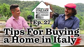 What to expect when you buy a home in Italy