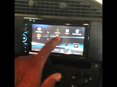 Saab 9 3 Custom Double Din Install Youtube
