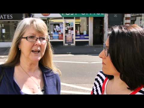 Jarmila Discussing the Post Office with Valerie White