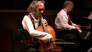 J.S.Bach Arioso from Cantata 156. Cello Georg Mertens - piano Gavin Tipping