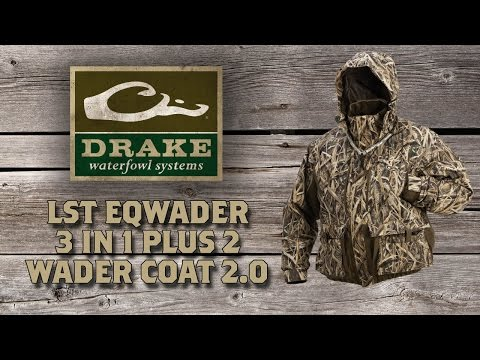 LST Eqwader™ 3-in-1 Plus 2 Wader Coat 2.0