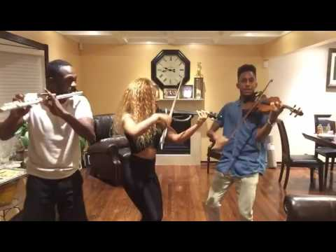 MAPY VIOLINIST, MATT VIOLINIST, NOTES - Dancehall Cover : No Letting Go, Hold You, Tempted To touch