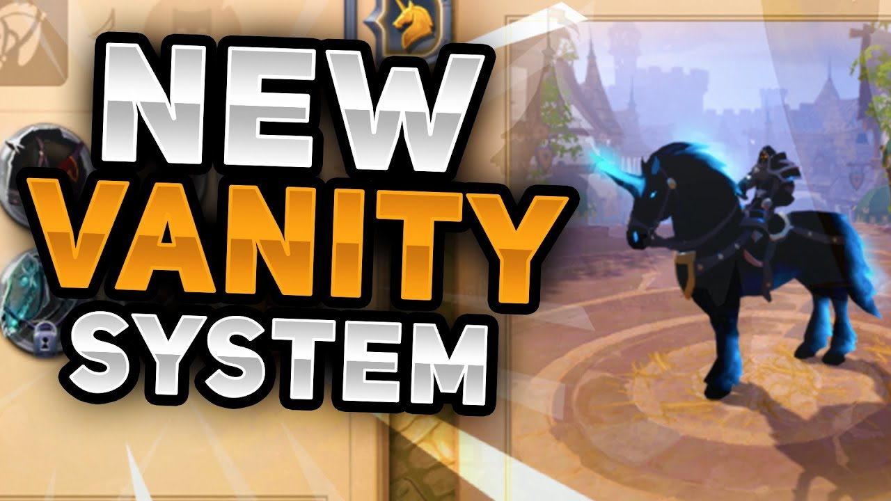 Mount Skins And Character Customization Overview Ablion Online Vanity System Youtube