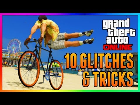 GTA 5 Online - TOP 10 WORKING GLITCHES & TRICKS You Probably Don't Know In GTA Online! (GTA 5)