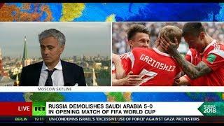 Jose Mourinho & Peter Schmeichel break down Russia's record-breaking win over Saudi Arabia