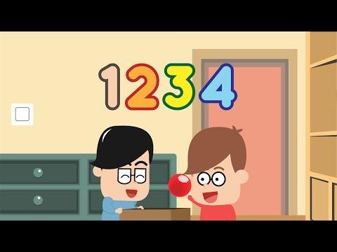 Belajar Mengenal Angka dalam Bahasa Inggris dan Indonesia  Eza dan Adi