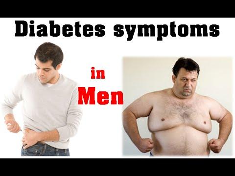 Diabetes symptoms in men | early diabetes symptoms in men
