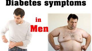 Diabetes symptoms in men   early diabetes symptoms in men